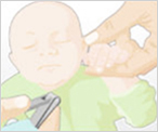 bebek tırnağı kesme