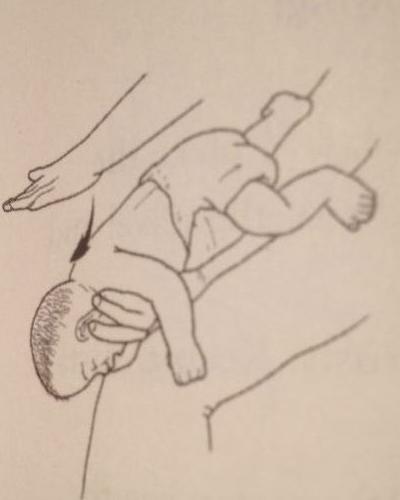 bebek boğulmasında ilk yardım