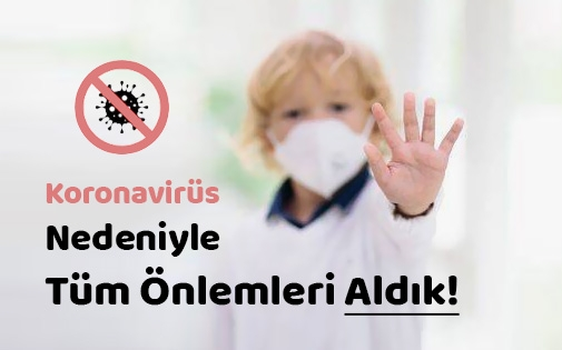 Koronavirüs Nedeniyle Kliniğimizde Tüm Önlemleri Artırdık!